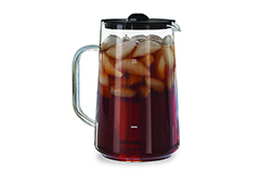 Capresso Glass Iced Tea Pitcher with Lid