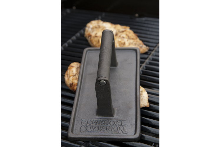 Charcoal Companion Rectangular Grill Press