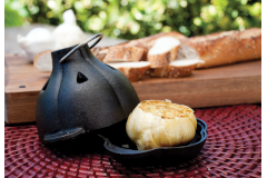 Charcoal Companion Cast Iron Garlic Roaster & Squeezer Set
