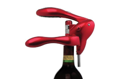 Metrokane Original Rabbit Corkscrew Red