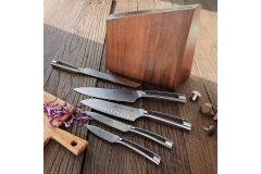 Cangshan N1 Series 6-Piece Knife Set with Wood Block
