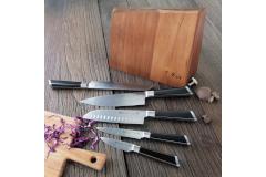 Cangshan Y2 Series 6-Piece Knife Block Set