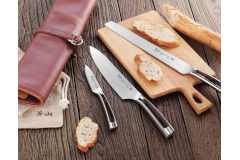 Cangshan N1 Series 4-Piece Knife Leather Roll Set
