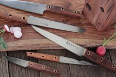 Cangshan W Series 6-Piece Knife Block Set with Walnut Block