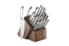 Cangshan N1 Series 22-Piece Knife Block Set with Walnut Block