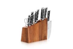 Cangshan S Series 12-Piece Knife Set with Acacia Wood Block