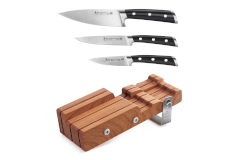 Cangshan S Series 4-Piece Starter Knife Block Set