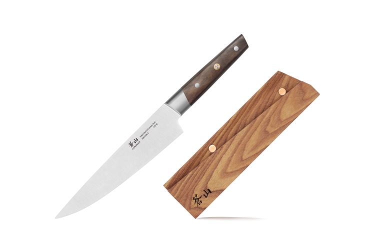 "Cangshan R Series 8"" Chef's Knife with Ashwood Sheath"