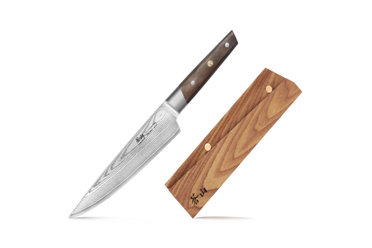 "Cangshan R Series 8"" Chef's Knife (Japan Steel) with Ashwood Sheath"