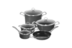 Chantal Copper Fusion 9 Piece Cookware Sets