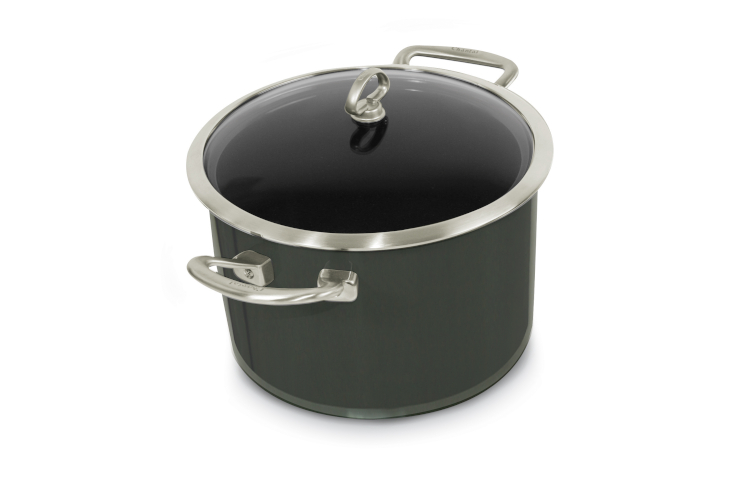 Chantal Copper Fusion 8 Quart Stockpot with Lid
