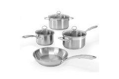 Chantal Induction 21 Stainless Steel 7-Piece Cookware Set