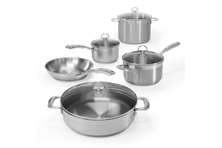 Chantal Induction 21 Stainless Steel 9-Piece Cookware Set
