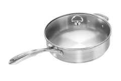 Chantal Induction 21 Stainless Steel 5 Quart Saute