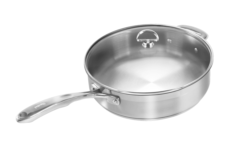 Chantal Induction 21 Stainless Steel 5 Quart Sauté Pan