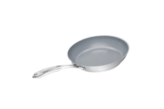 Chantal Induction 21 Stainless Steel Ceramic Coated Fry Pans