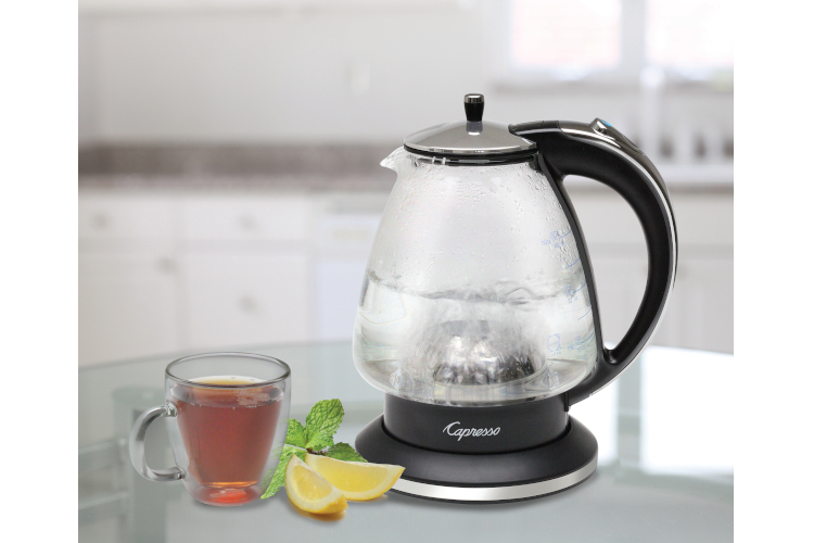 Capresso H2O Glass Water Kettle