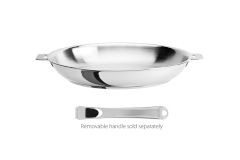 CRISTEL Casteline Stainless Steel Fry Pans