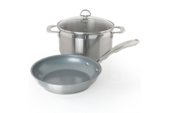 Chantal Induction 21 Stainless Steel 3-Piece Weeknight Meal Set