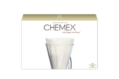 Chemex Bonded Filters Unfolded Half Moon
