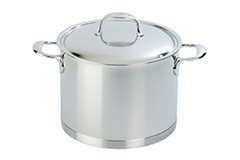 Demeyere Atlantis Stainless Steel 8.5 Quart Stockpot