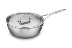 Demeyere Industry Stainless Steel 3.5 Quart Essential Pan