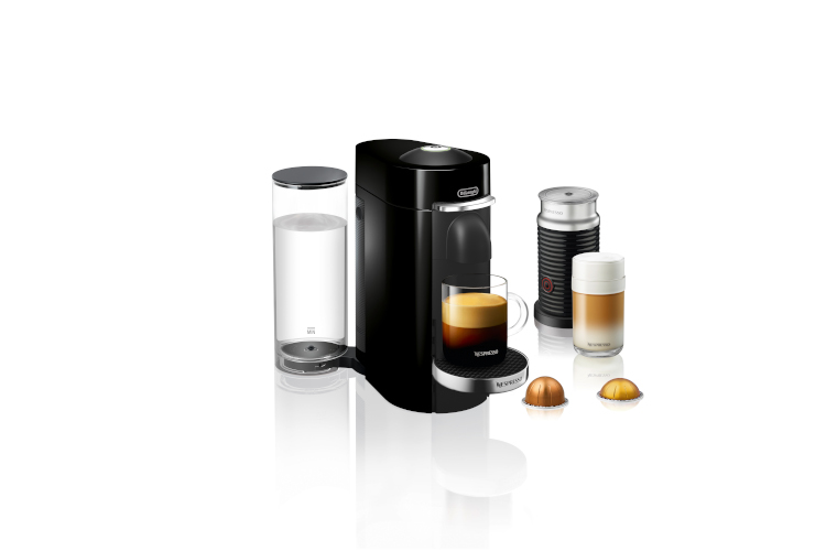 Nespresso by De'Longhi VertuoPlus Deluxe Coffee and Espresso Machine with Aeroccino3