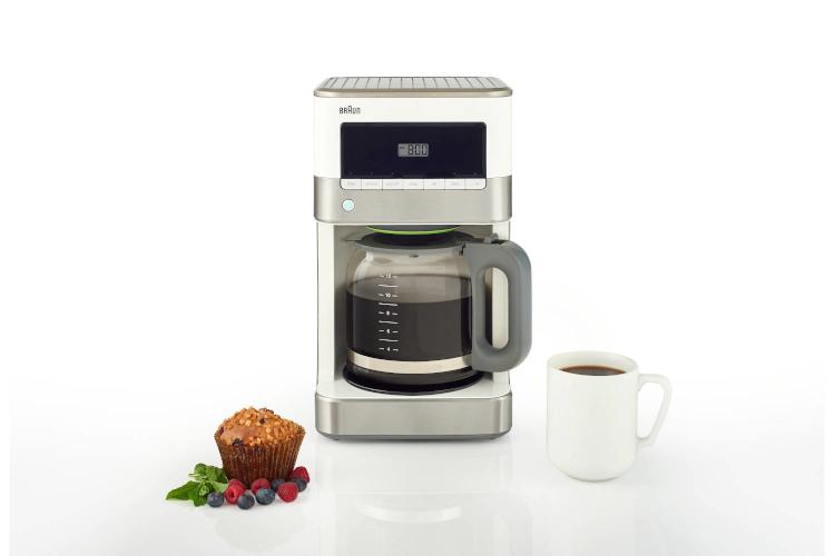 Braun BrewSense 12-Cup Drip Coffee Maker White