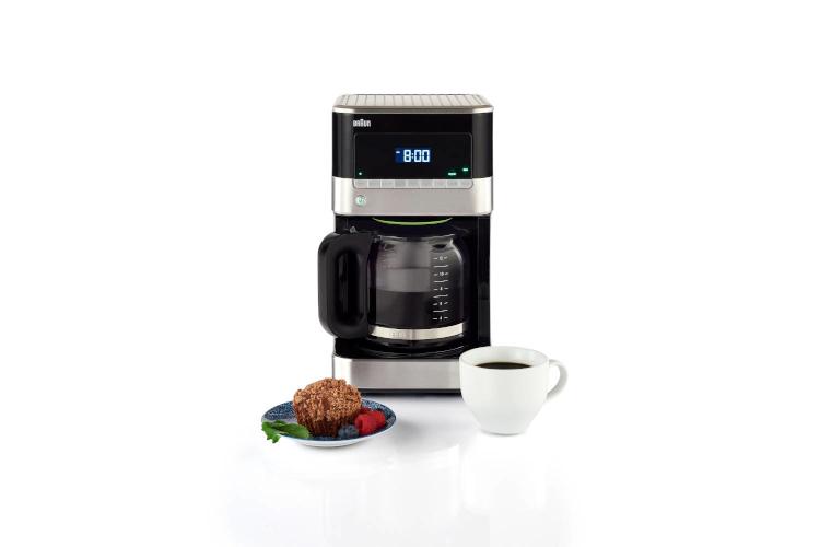 Braun BrewSense 12-Cup Drip Coffee Maker Black