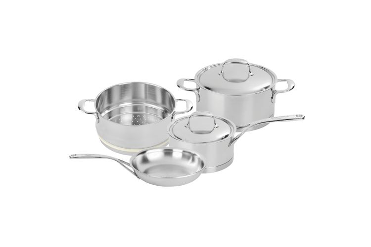 Demeyere Atlantis Stainless Steel 6-Piece Cookware Set