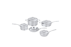 Demeyere Atlantis Stainless Steel 9-Piece Cookware Set