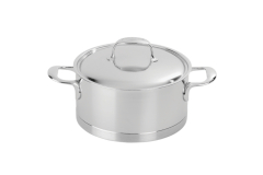 Demeyere Atlantis Stainless Steel Dutch Ovens with Lid