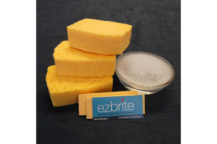 EZ Brite Pop-Up Sponges