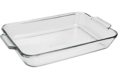 "Anchor Hocking Baked by Fire King 9"" x 13"" Rectangular Baker"
