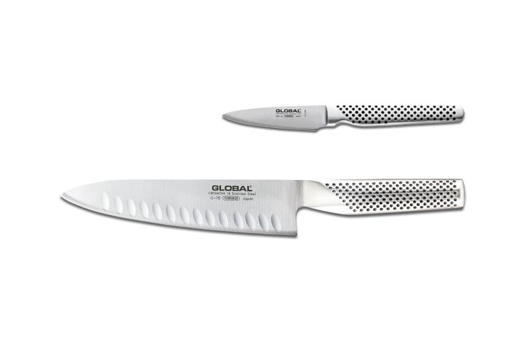 Global Classic 2-Piece Knife Set