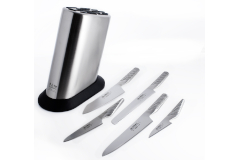 Global Classic 6-Piece Knife Block Set