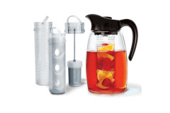 Primula Flavor It Pitcher 3-in-1 Beverage System Red