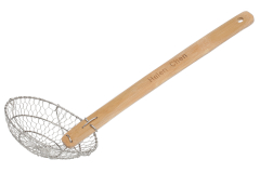 "Helen Chen 7"" Spider Skimmer with Bamboo Handle"