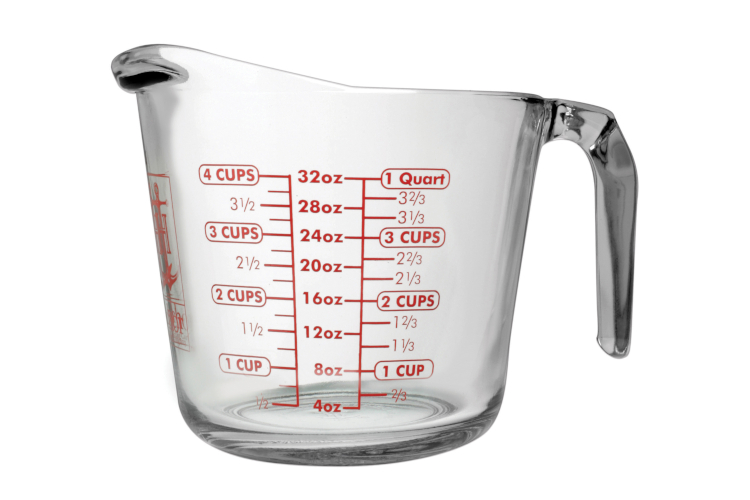 Harold Import Anchor Glass Measuring Cups