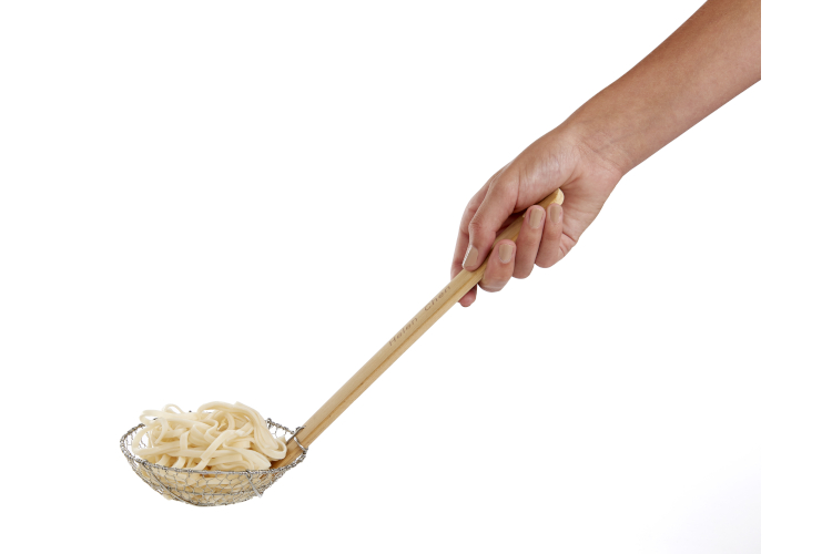 Helen's Asian Kitchen Spider Skimmer with Bamboo Handle
