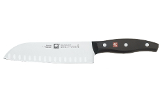 "Zwilling J.A. Henckels Twin Signature 7"" Hollow Ground Santoku"