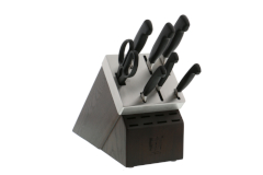 ZWILLING Four Star 8-Piece Self Sharpening Knfe Block Set