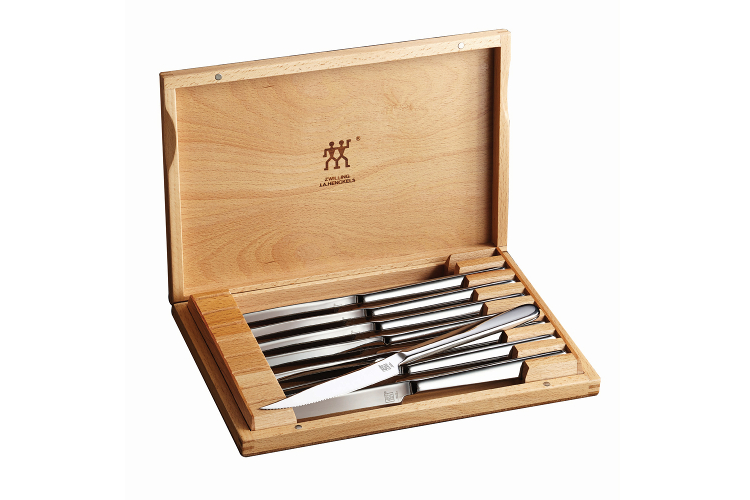 ZWILLING 8 Piece Stainless Steel Steak Knife Set with Presentation Box