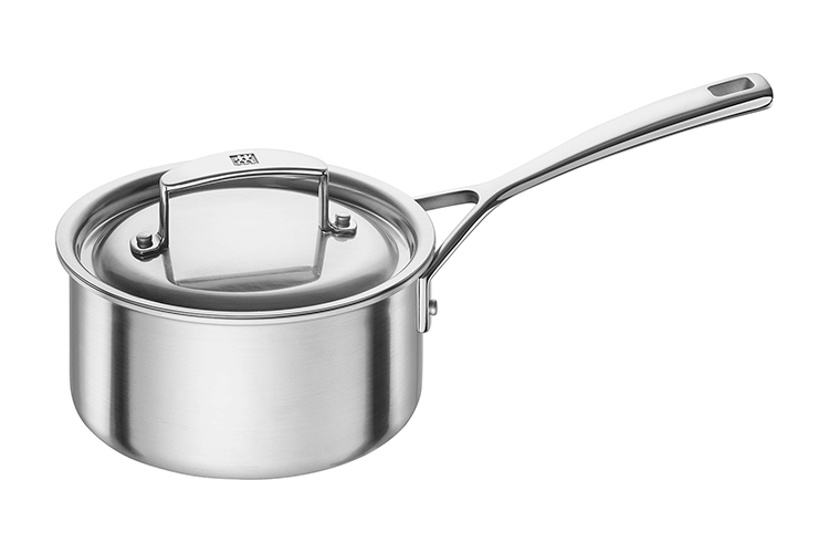 ZWILLING Aurora 1.5 Quart Stainless Steel Sauce Pan with Lid