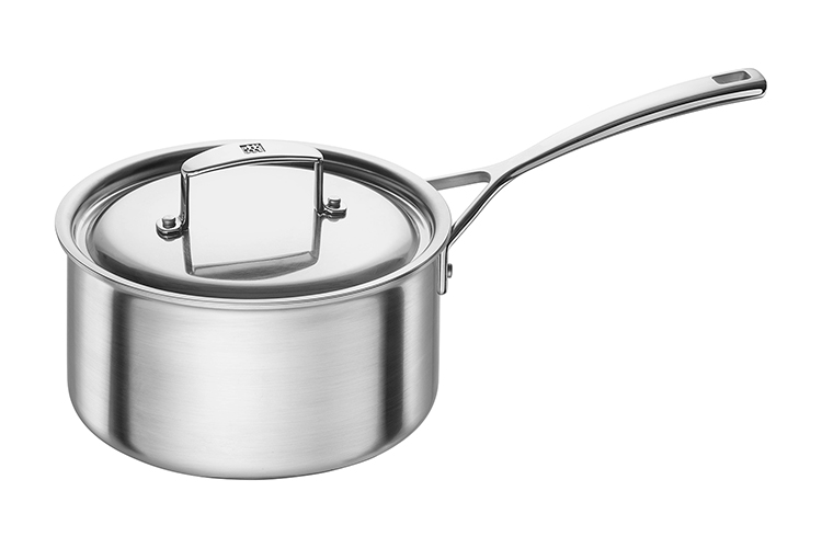 ZWILLING Aurora 3 Quart Stainless Steel Sauce Pan with Lid