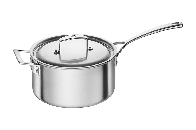 ZWILLING Aurora 4 Quart Stainless Steel Sauce Pan with Lid
