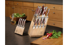 Hammer Stahl 21-Piece Classic Collection Knife Block Set