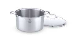 Hammer Stahl Stainless 7-Ply Stock Pots with Lid