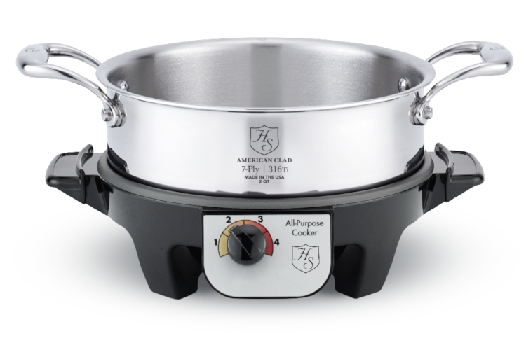 Hammer Stahl Multi-Purpose Electric Slow Cooker Base