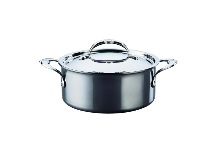 Hestan NanoBond Stainless Steel 3 Quart Soup Pot with Lid